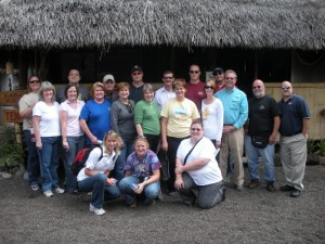 The team at the real Equator