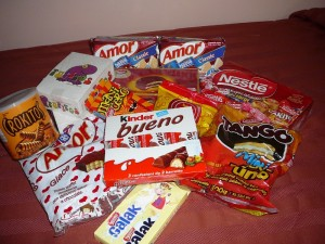 Ecuador candy and snacks